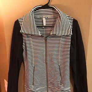 Lululemon Daily Yoga Jacket Classic Stripe
